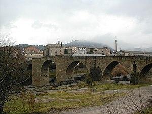 El Pont de Vilomara i Rocafort - The gothic bridge over the Llobregat river