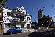 El Viso de San Juan, Iglesia y antiguo ayuntamiento.jpg