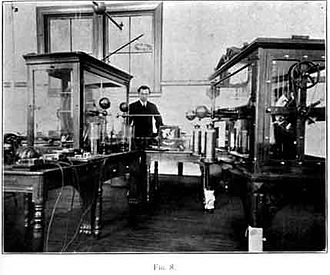 New York University Tandon School of Engineering - Polytechnic Institute Electrostatic Laboratory 1903–1904