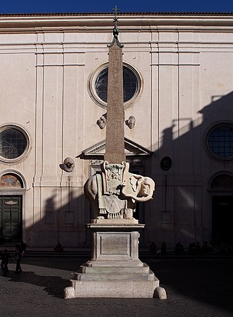 Elephant and Obelisk - Image: Elephant and Obelisk Bernini