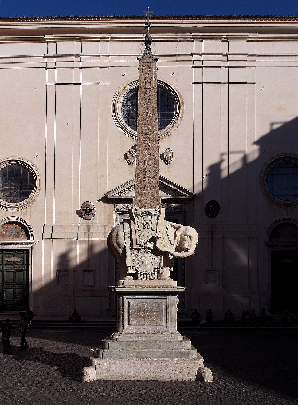 Elephant and Obelisk - Bernini