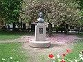 Emanuel Swedenborg (1688-1772), bronsbyst (1973), Mariatorget, 2019b.jpg