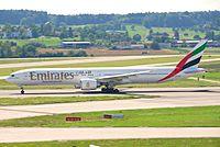 A6-ECR - B77W - Emirates