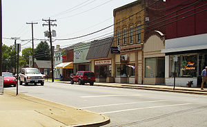 Emporia, Virginia - Downtown Emporia
