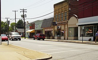 Emporia, Virginia - Downtown Emporia