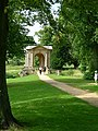End view of Palladian Bridge, Stowe Landscape Gardens - geograph.org.uk - 343659.jpg