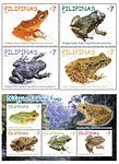 Endemic frogs 2011 stampsheet of the Philippines.jpg