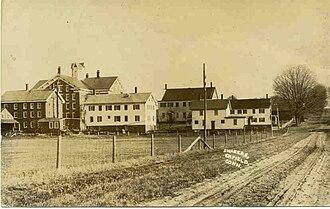 Enfield, Connecticut - Enfield Shaker village c. 1910