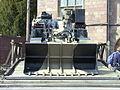 Engineer vehicle at Monmouth Regimental Museum.JPG