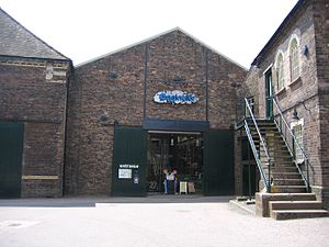 Ironbridge Gorge Museum Trust - The entrance to Enginuity Museum