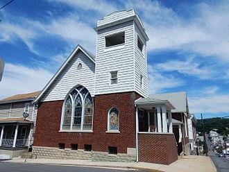 Minersville, Pennsylvania - English Baptist Church.