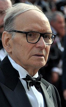 Morricone at the 2012 Cannes Film Festival