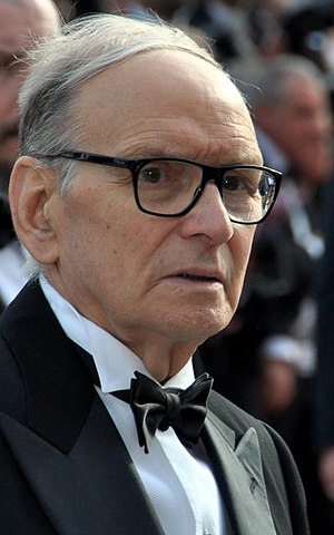 Ennio Morricone - Morricone at the 2012 Cannes Film Festival
