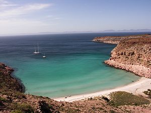 Baja California Peninsula - Isla Partida, which is part of the San Lorenzo Marine Archipelago National Park