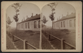 Erie Railroad yard, showing round house, by W. L. Sutton.png