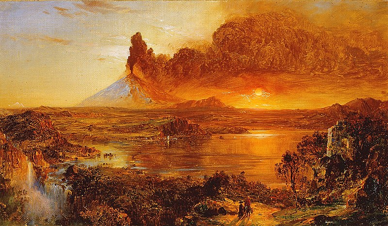 File:Eruption at Cotopaxi Frederic Edwin Church.jpg