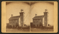 Escanaba lighthouse, Mich, by Bauder, George W..png