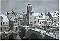 Eschwege, Brückentürmchen 1850.jpg
