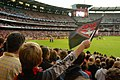 Essendon supporter flag 2005.jpg
