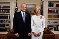 Estonian Ambassador H.E. Mr Andres Unga presents his credentials to the Governor-General of Australia H.E. Ms Quentin Alice Louise Bryce. 28.03.2013 (8596664099).jpg