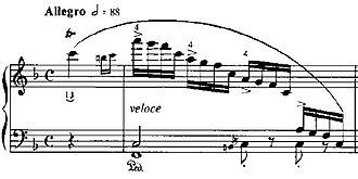Études (Chopin) - Image: Etude Op 10N8