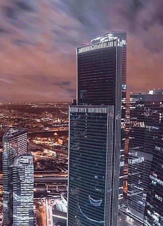 Eurasia (building) - Image: Eurasia 1 Moscow city