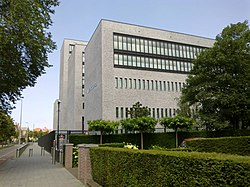 The headquarters of Europol in The Hague, the Netherlands
