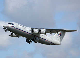 British Aerospace 146 - Eurowings BAe 146-300, 2008