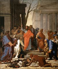 The Preaching of St Paul at Ephesus