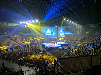 Mandalay Bay Events Center - The Mandalay Bay Events Center during Evo 2017.