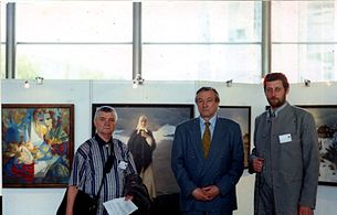 Exhibition Chernobyl from eyes of Belarusian artists in NATO Headquarters in Brussel 2000 02.jpg