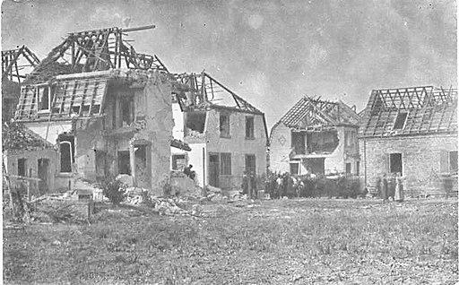 Explosionsschäden Oppau 1921 1