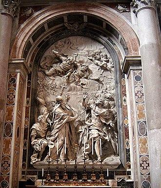 Alessandro Algardi - Fuga d'Attila, St. Peter's Basilica.