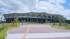 Exterior of Shin-Aomori Prefectural Comprehensive Athletic Park Athletics Stadium 005.jpg