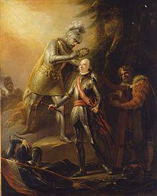 Apotheose des Erzherzog Karl, Gemälde von Heinrich Friedrich Füger, HGM (Quelle: Wikimedia)