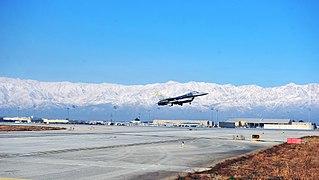 Bagram Airfield Former U.S. military base in Afghanistan
