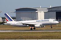 F-GKXE - A320 - Air France