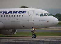F-GKXJ - A320 - Air France