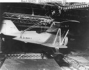 F9C in USS Akron hangar1932