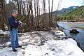 FEMA - 40059 - FEMA Public Information Officer at the Tilton River in Washington..jpg