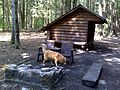 FLT M24 10.0 mi - Ludlow Creek Lean-to, 8x12' interior, fire place, double seat bench, outhouse - panoramio.jpg
