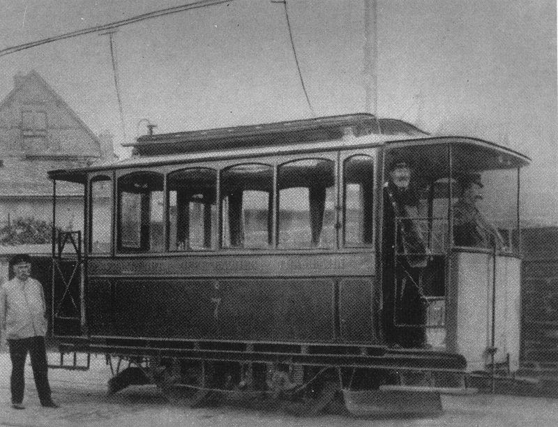 Die Geschichte des elektrischen Antriebs von Schienenfahrzeugen 800px-FOTG_Strassenbahnwagen_1890