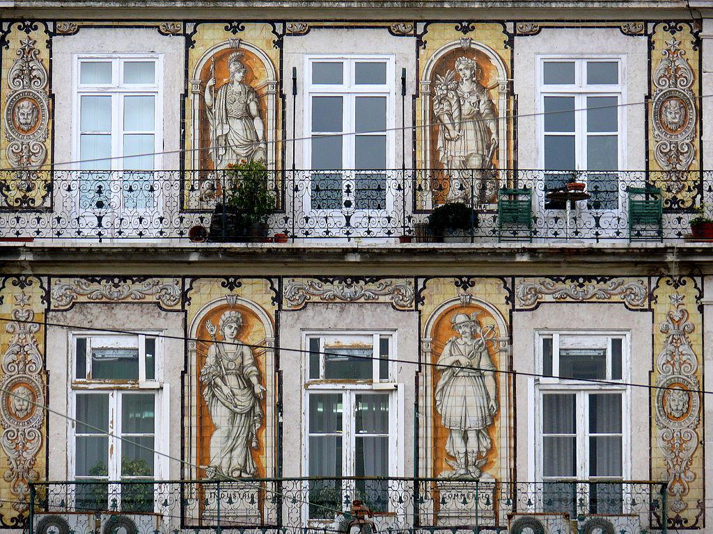 El arte del azulejo en portugal suma de influencias con for La casa del azulejo san francisco