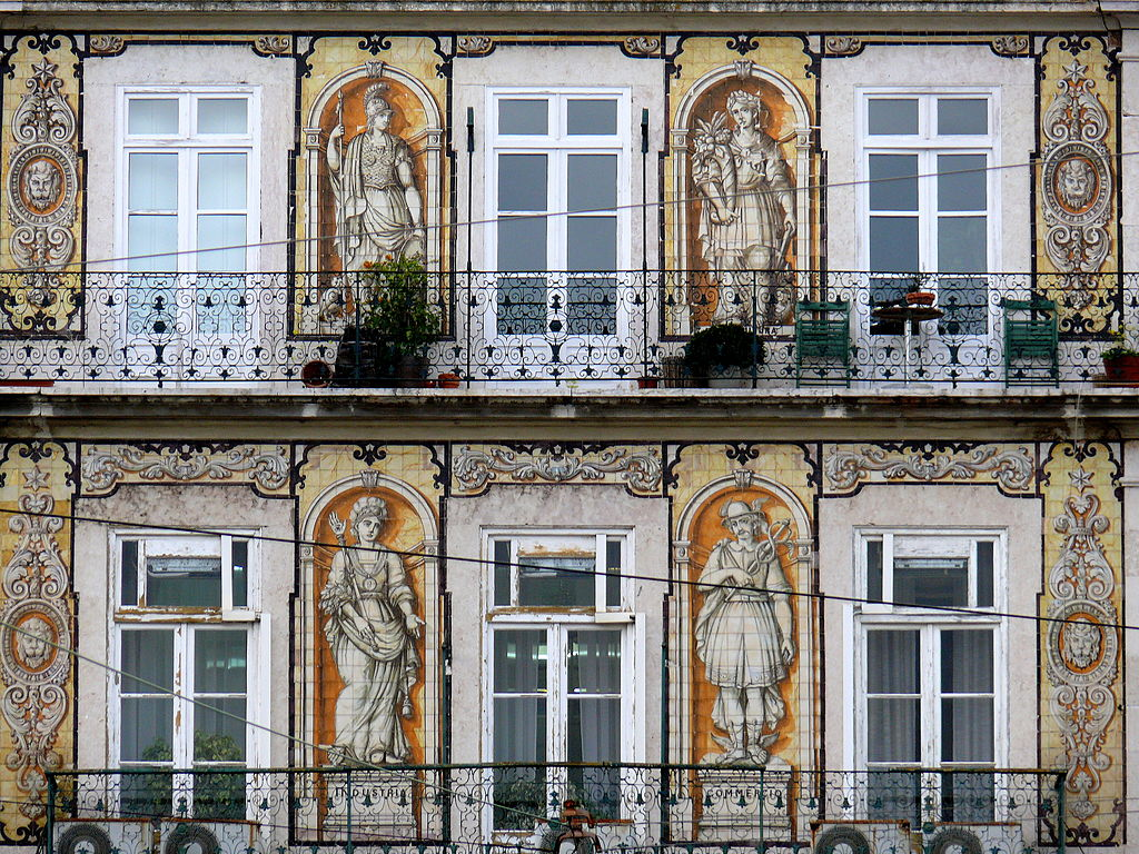 Historia del azulejo 2 los azulejos portugueses for Nova casa azulejos
