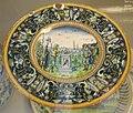 Faenza o siena, piatto con muzio scevola, 1510-20 ca..JPG