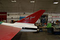 Fairchild SM-73 Bull Goose LTail Restoration NMUSAF 25Sep09 (14597107931).jpg