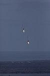 Falcon Heavy side boosters landing at KSC 01.jpg