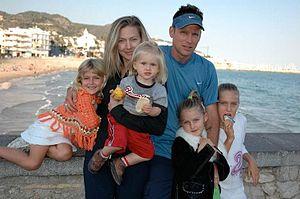 Corey Hart (singer) - Hart family, 2007