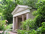 Garden Temple (known as Fannys Bower) in Grounds of Saltram House