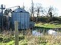 Farm Silo at Hammill Court. - geograph.org.uk - 304430.jpg